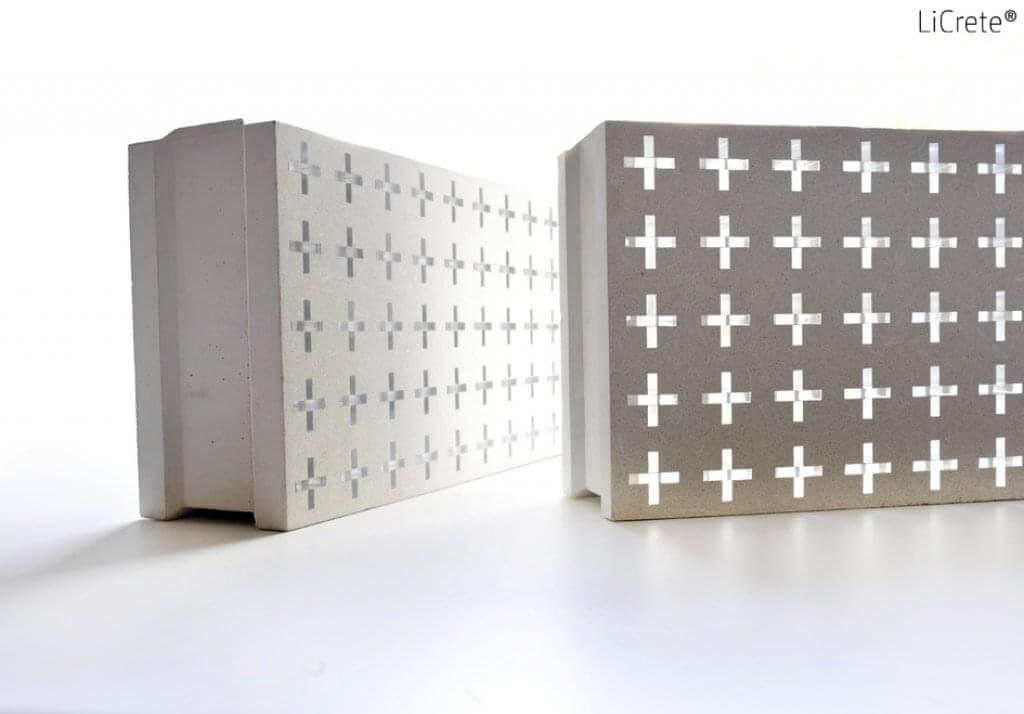 LiCrete - světlopropustný beton