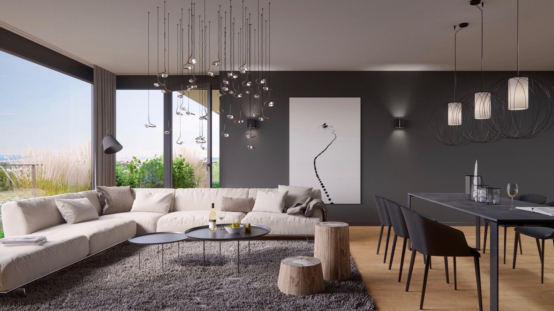 Vzorový byt, projekt SAKURA, Praha